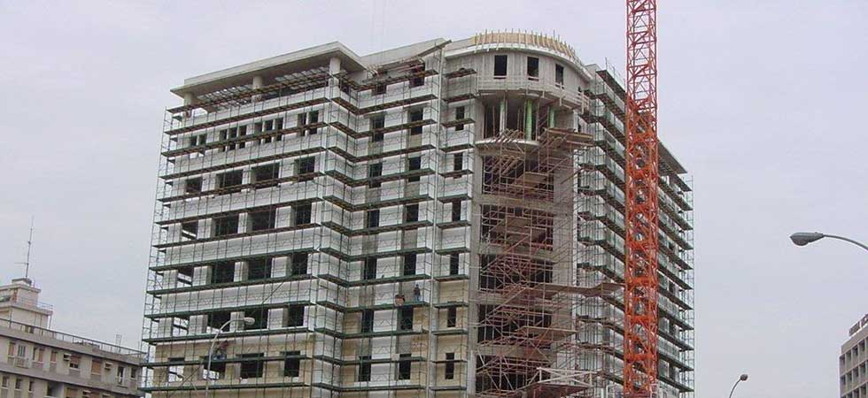 Scaffolding Pafili Cyprus - Scaffolding Slide for Multi-story Building