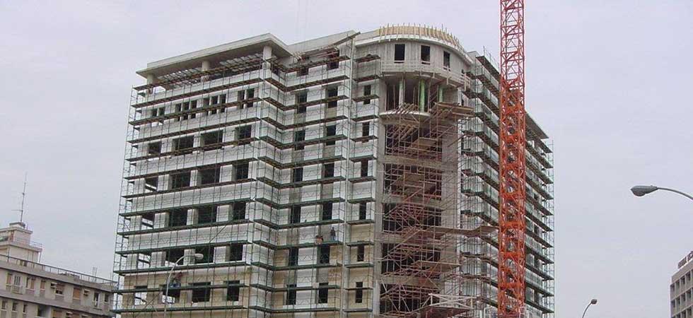 Scaffolding Pafili Cyprus - Scaffolding Slide for Multi-story Building